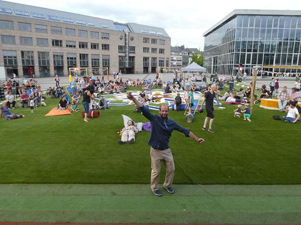 The Flying Grass Carpet