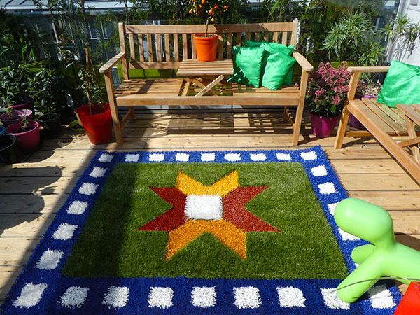 tiny Flying Grass carpet