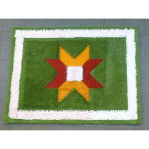 Tiny Flying Grass Carpet White stripe Border